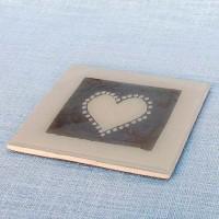 Coaster - Heart WCH