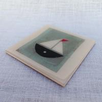 Coaster - White Marine Yacht WCM