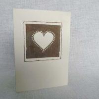 A6 Card - Cream