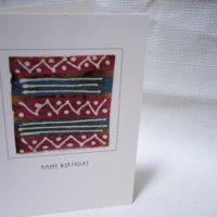 """Card A6 """"Happy Birthday"""""""